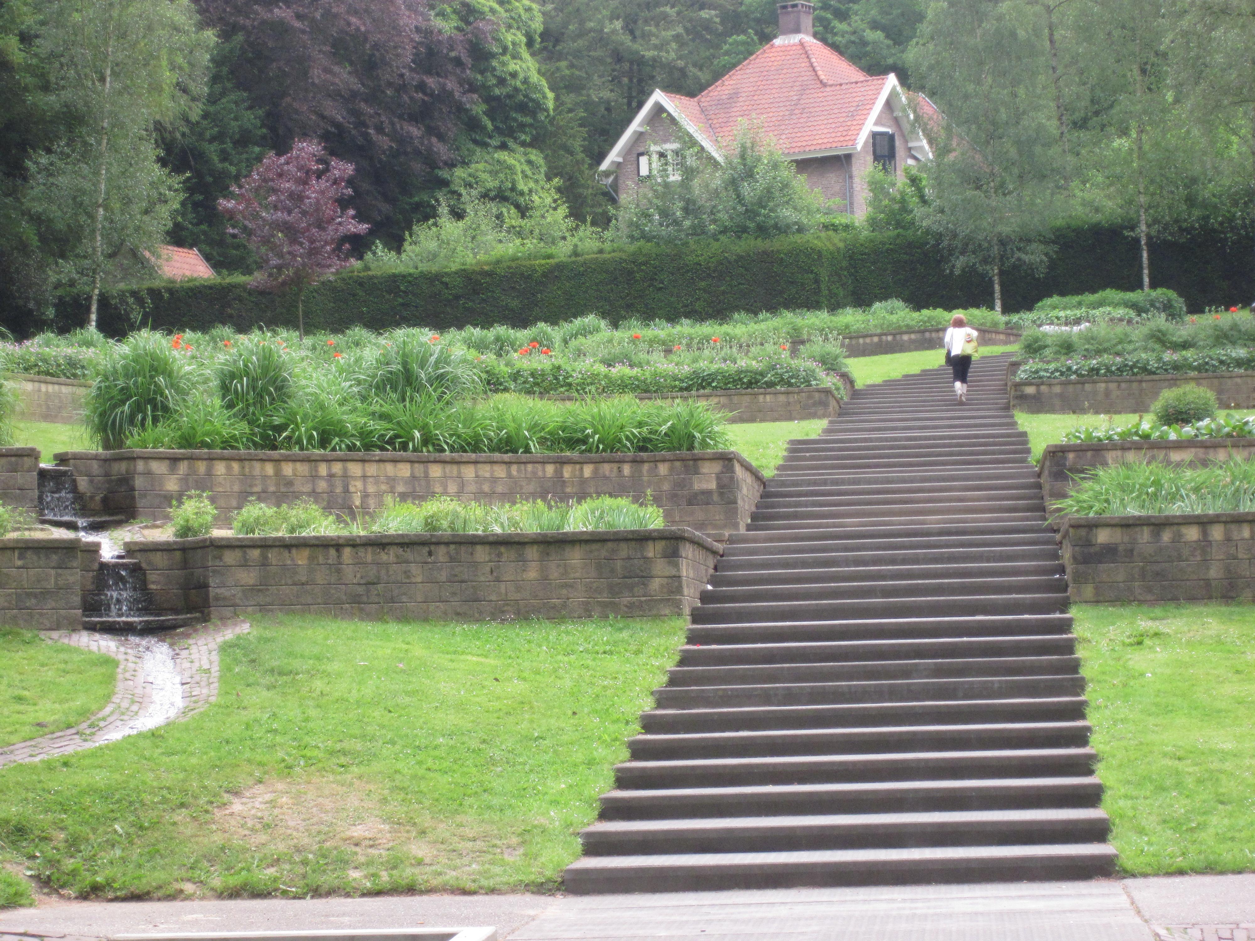 Mac meeting sonsbeekpark arnhem weerspiegelingen 39 s blog - Lay outs tuin steile ...