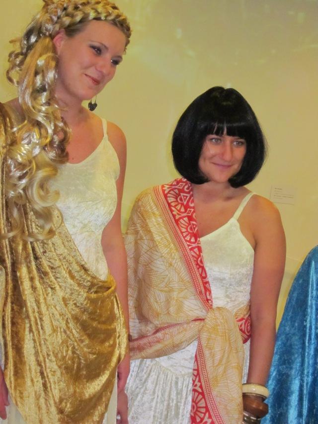 levende godinnen tijdens de Ladies Night in Museum Het Valkhof Nijmegen