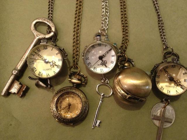 sleutels en tijd