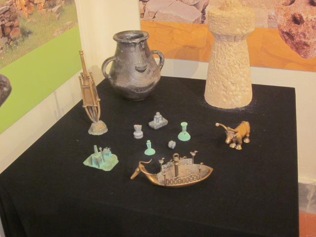 votiefbeeldjes archeologisch museum Sassari Sardinië
