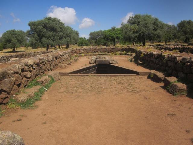 tempelheiligdom Santa Cristina Sardinië