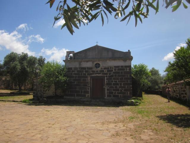 kerkje Santa Cristina Sardinië