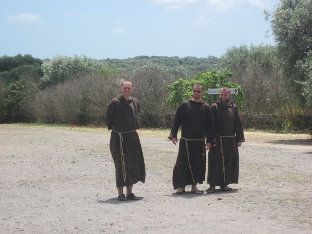 capucijner monniken Santa Cristina Sardinië