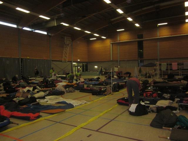 Sportzaal van Domein Breeven in Bornem