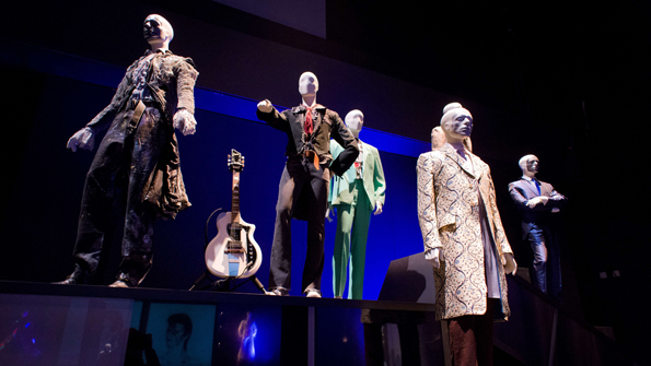 A selection of costumes and outfits worn